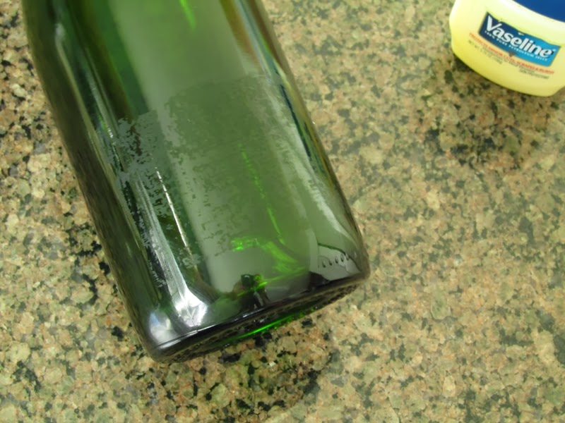 Tip: Non-Toxic method for removing sticky labels from glass bottles and jars with Vaseline