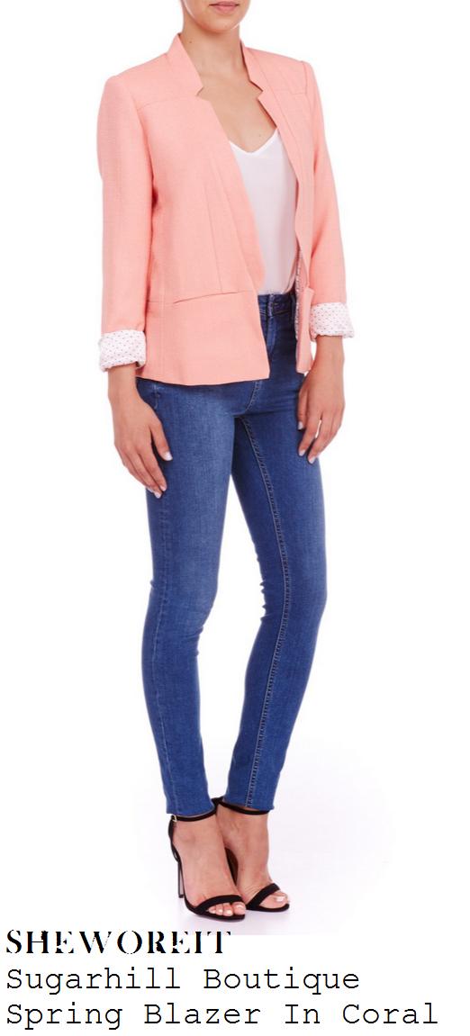 billie-faiers-coral-pink-tailored-blazer-jacket-towie
