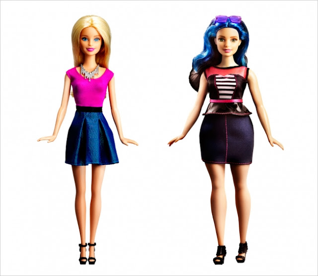 Curvy Barbie on Fashion and Cookies fashion blog