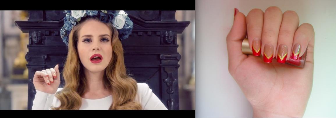 Beauty Make Up Nail Polishes Fashion Lana Del Rey Born To Die