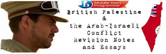Israeli palestinian conflict essay questions