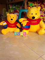 Boneka Winnie The Pooh Ukuran Xl dan Jumbo