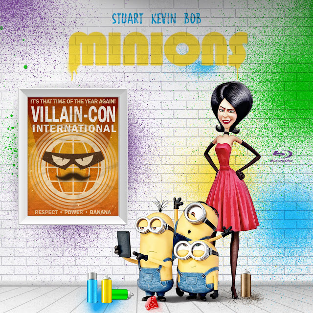 Label Bluray Minions