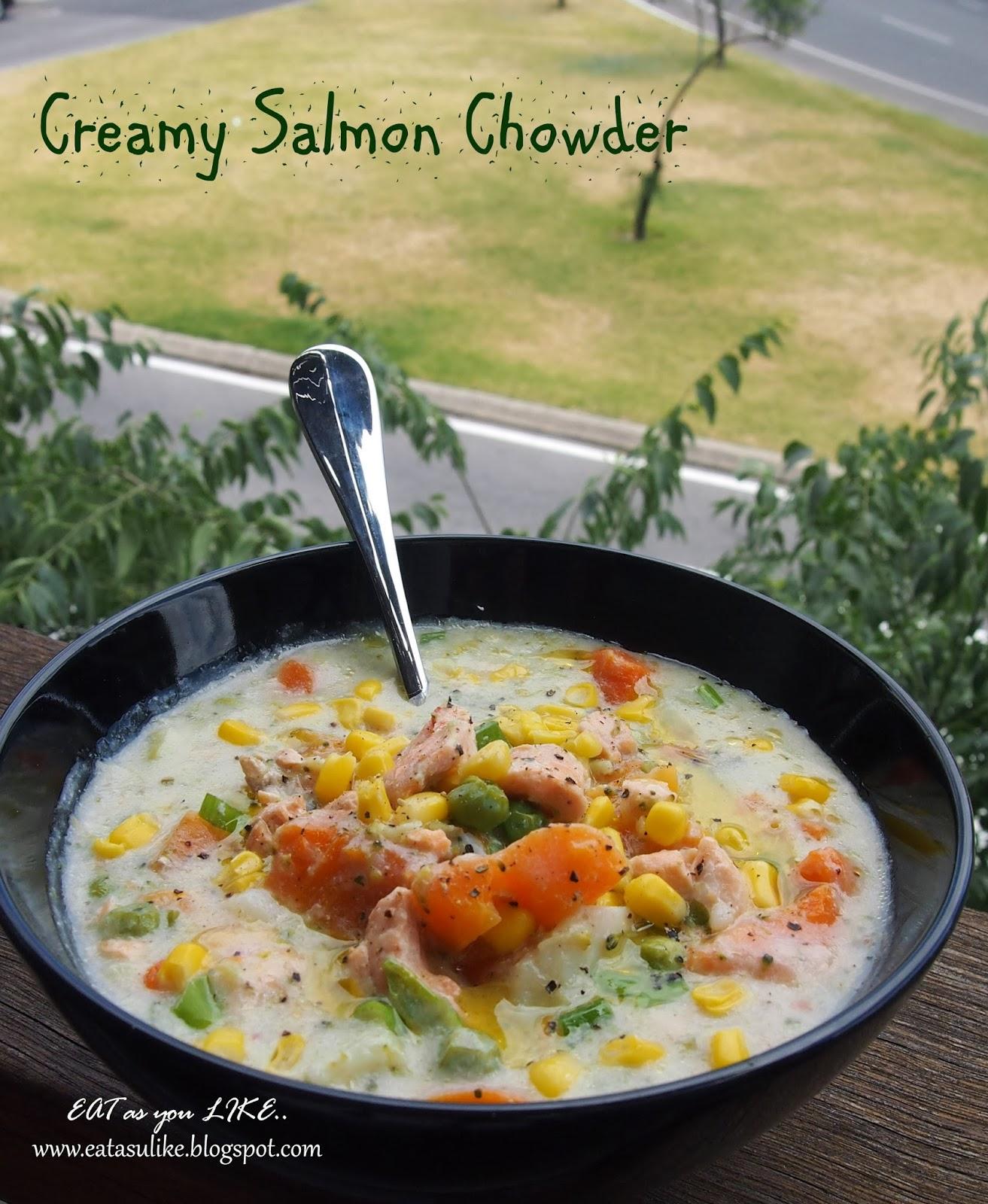 http://eatasulike.blogspot.com.au/2014/03/creamy-salmon-chowder.html