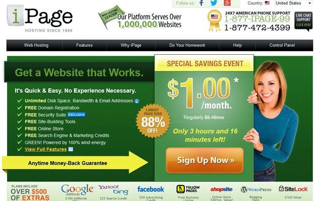 hosting terbaik iPage