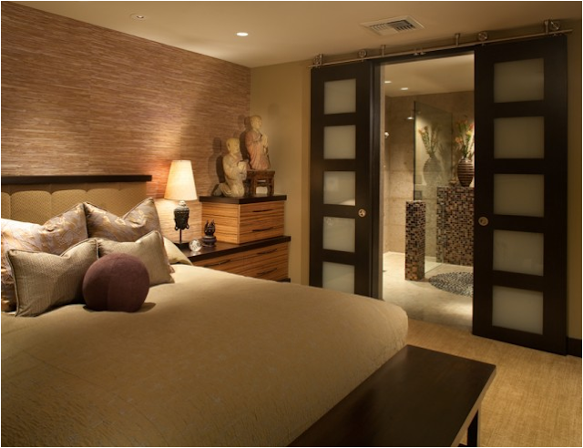 Asian-inspired Bedroom Design