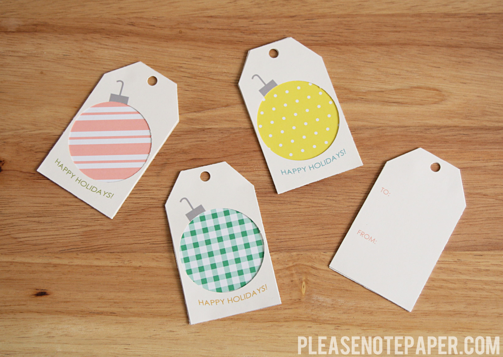 please note free printable gift tags