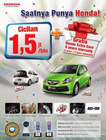Promo Honda Brio Satya Bandung