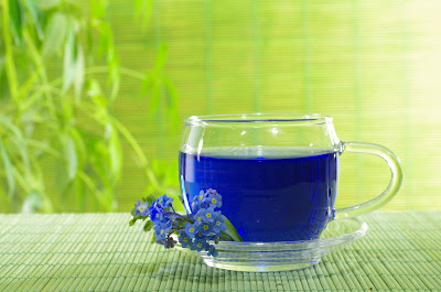 Blue tea to lose weight naturally