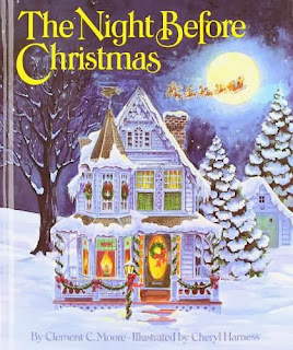 bookcover of THE NIGHT BEFORE CHRISTMAS  illustrated by Cheryl Harness