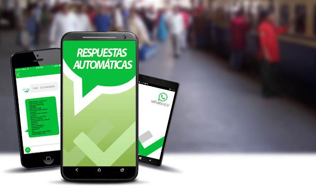 Responde a todos tus contactos de WhatsApp automáticamente