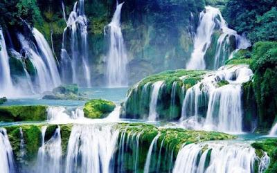 Gambar Pemandangan Alam Air Terjun Tercantik Di Dunia 1600