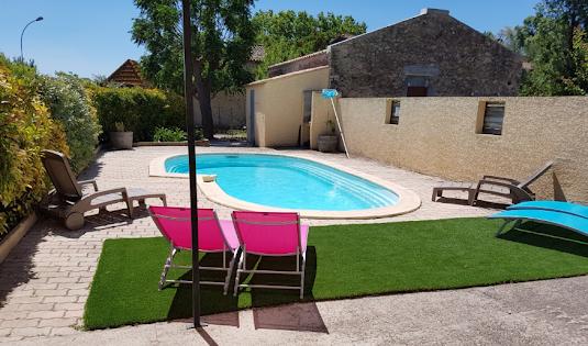 Villa romarin - piscine