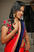actress om sizzling photos in saree-thumbnail-35