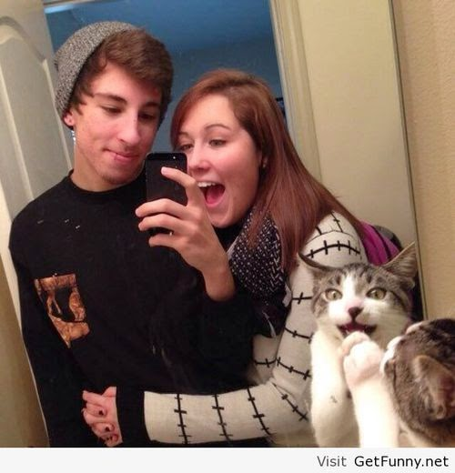 Funny selfie photo 001