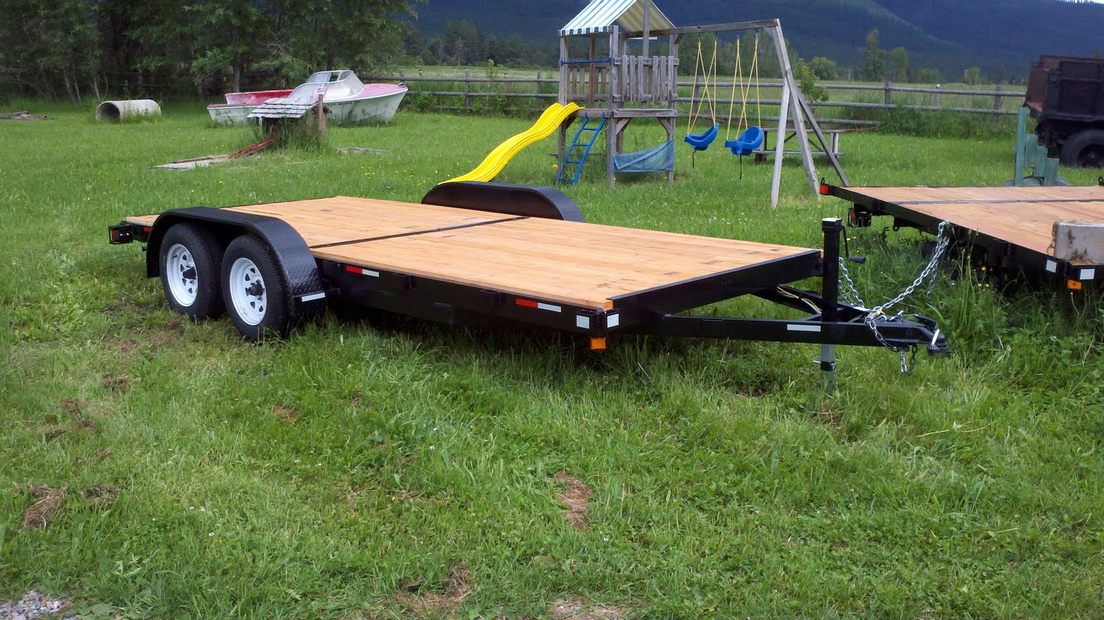 Trailers For Sale Montana Car Hauler Utility Duel Axle Trailers