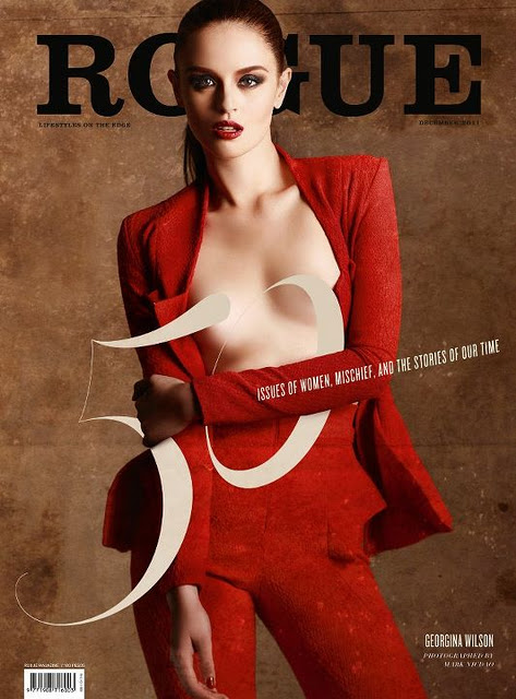 Georgina Wilson covers on Rogue Magazine