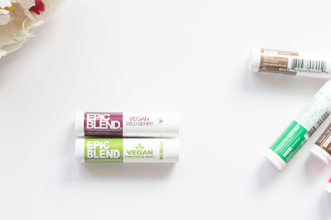 epic blend vegan wild berry pineapple mint lip balm review
