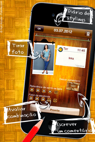 Aplicativos que ajudam a escolher looks app Guarda roupa