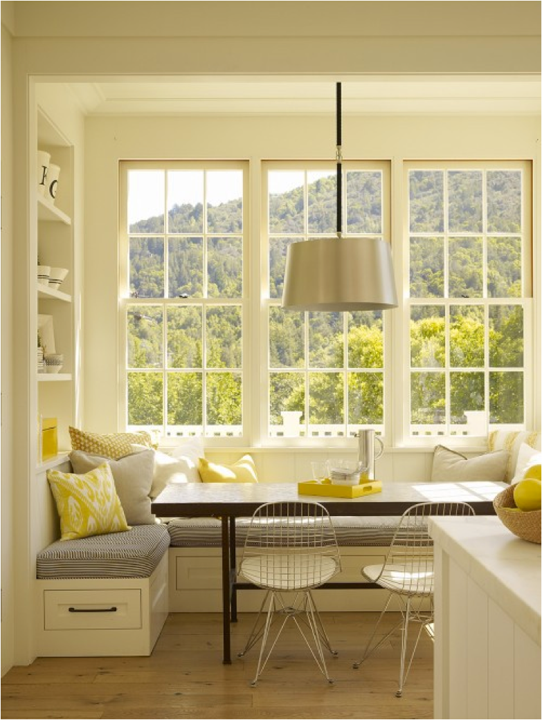Kitchen Bay Window Breakfast Nook