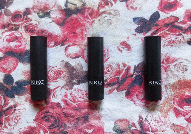 Kiko Smart Lipstick Review | 918, 913 and 909