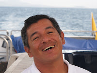 Photograph of Harry Jimenez, owner of San Cristobal's Galapagos Eco Lodge