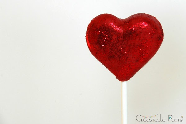 cake pop coeur / heart