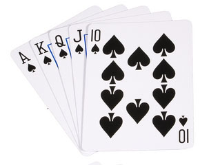 Poker hand in casino royale
