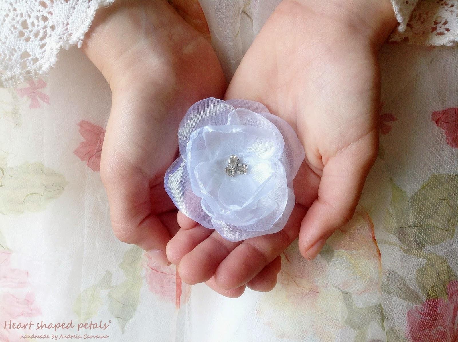 Bridesmaids hair accessory flower