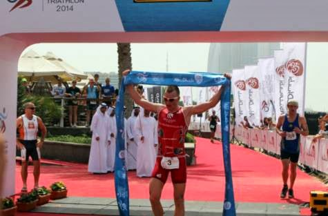 Tyler Butterfield, Abu Dhabi triathlon Results, triathlon, triathlon race