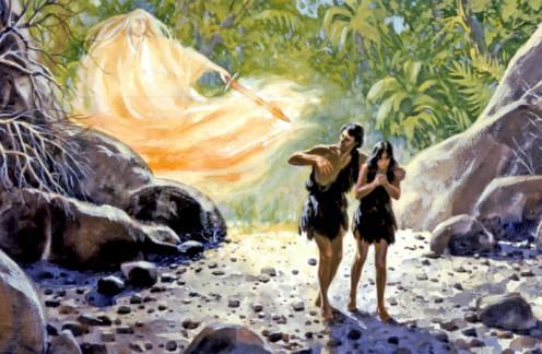 Qui nes fueron los verdaderos dioses del ed n for Adan y eva en el jardin de eden