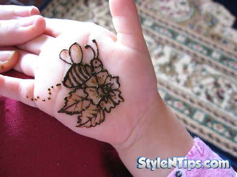 Mehndi Designs For Kids 2015 Simple And Easy FunsMazaNew.Com