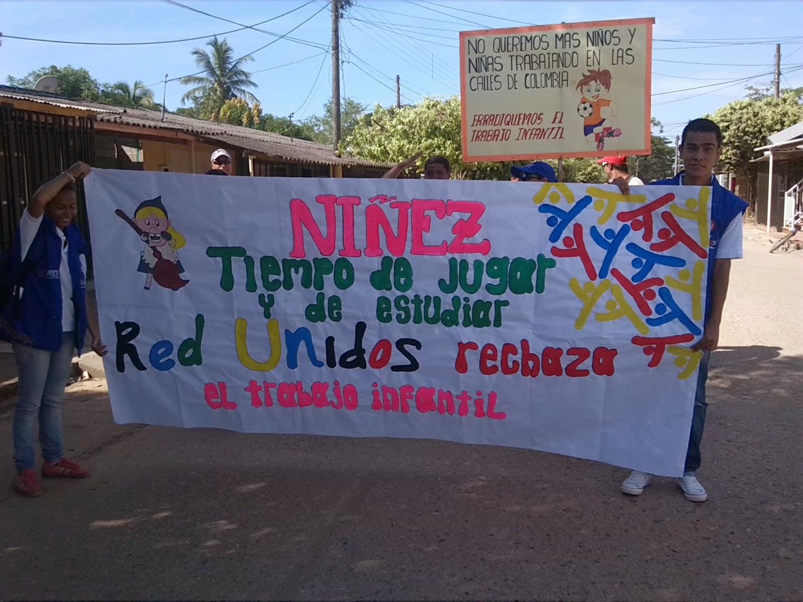 Municipio de puerto wilches marcha contra el trabajo infantil - Trabajo en el puerto ...