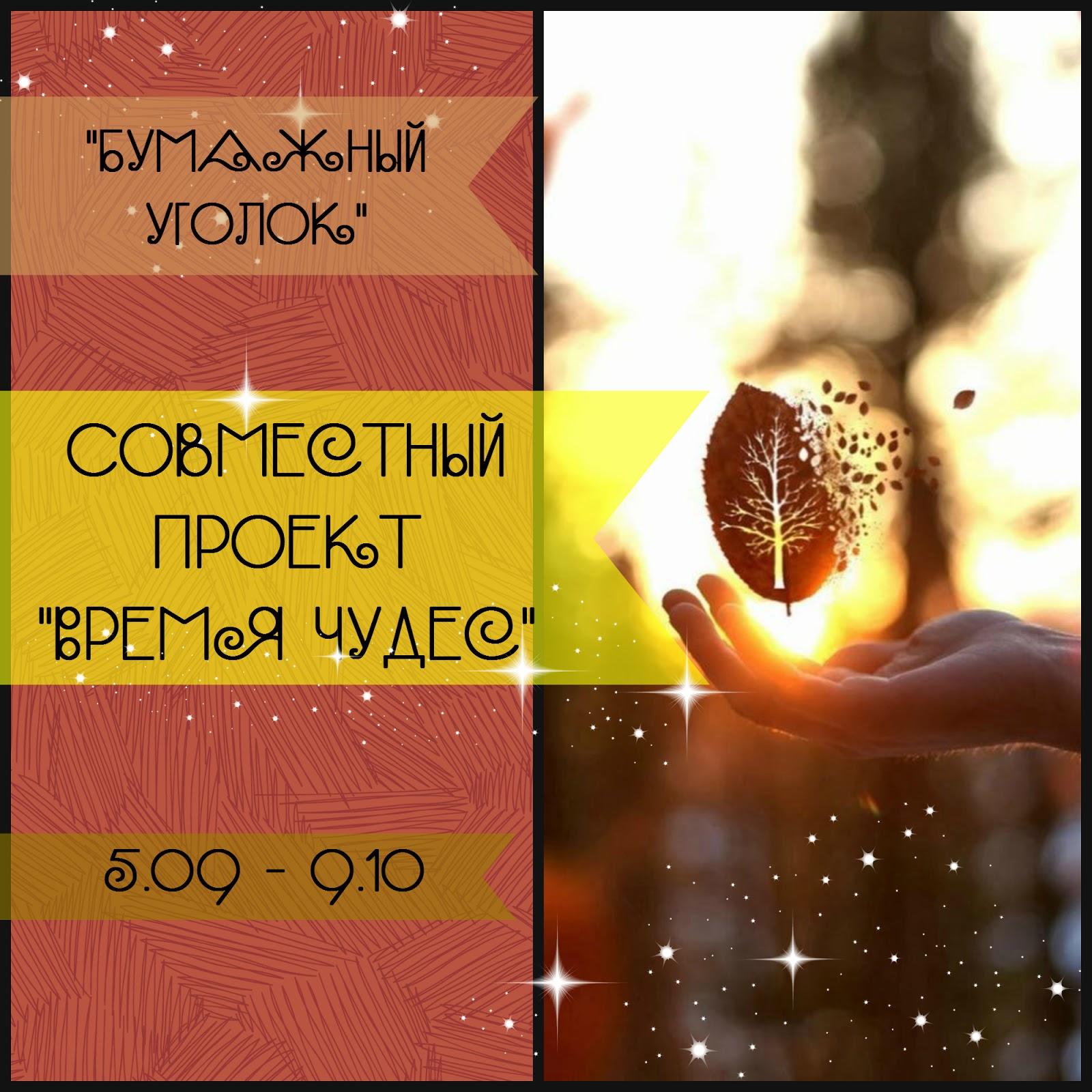 """Совместный проект """"Время чудес"""""""