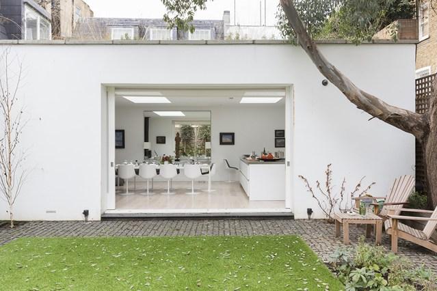 Jardín trasero en Londres