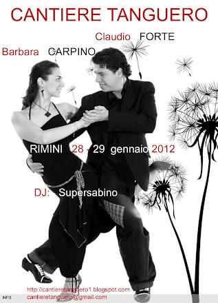 Claudio FORTE y Barbara CARPINO