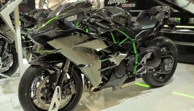 Ini Dia Motor Kawasaki Ninja H2 Terbaru, Berapa Harganya?