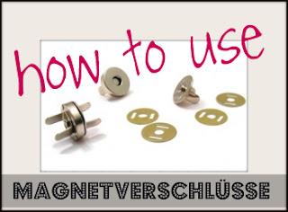 Taschenverschluss Magnet