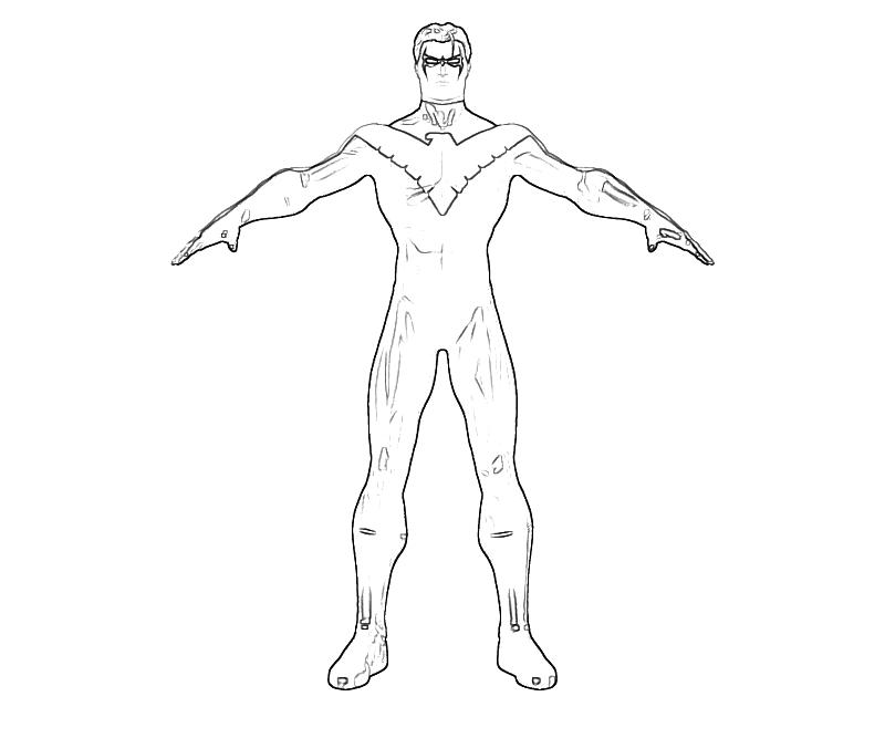 Free Coloring Pages Of Lego Nightwing Lego Nightwing Coloring Pages