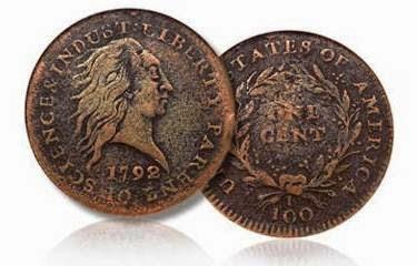 koin kuno antik 1792