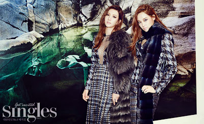 Jungah and Jooyeon After School - Singles Magazine November Issue 2013