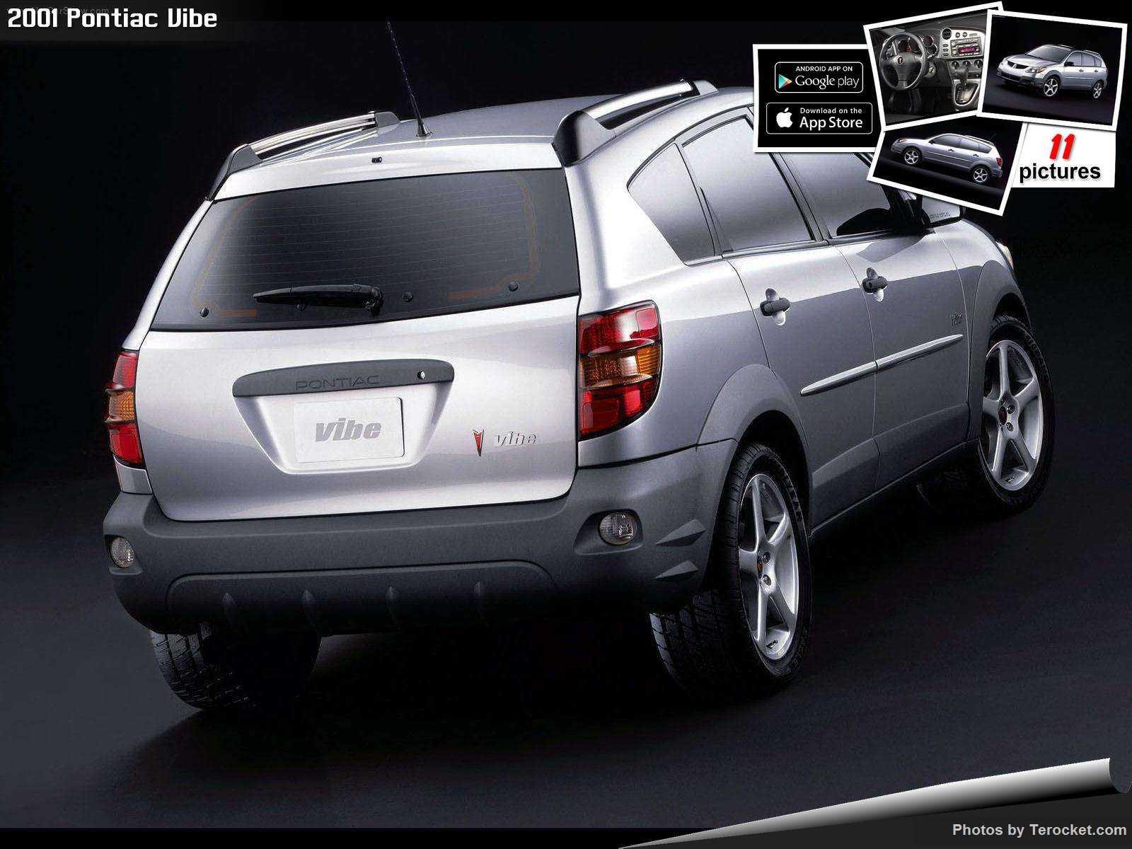 Hình ảnh xe ô tô Pontiac Vibe 2001 & nội ngoại thất