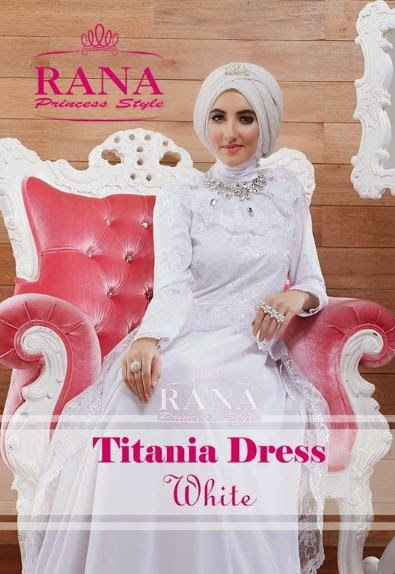 Contoh Model Baju Pesta Muslim
