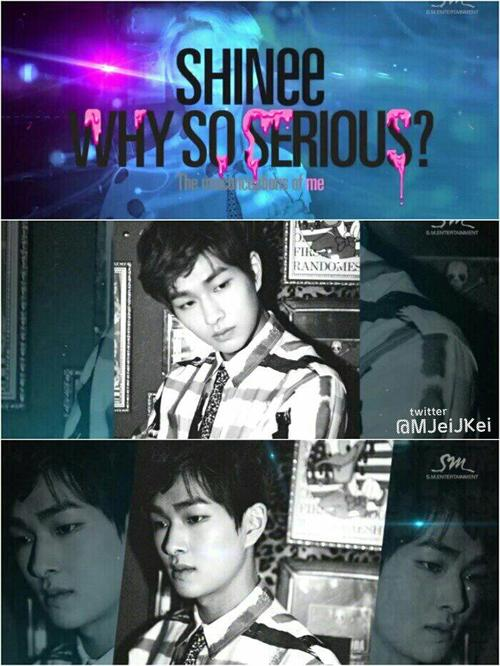 shinee onew why so serious? album teaser image 2