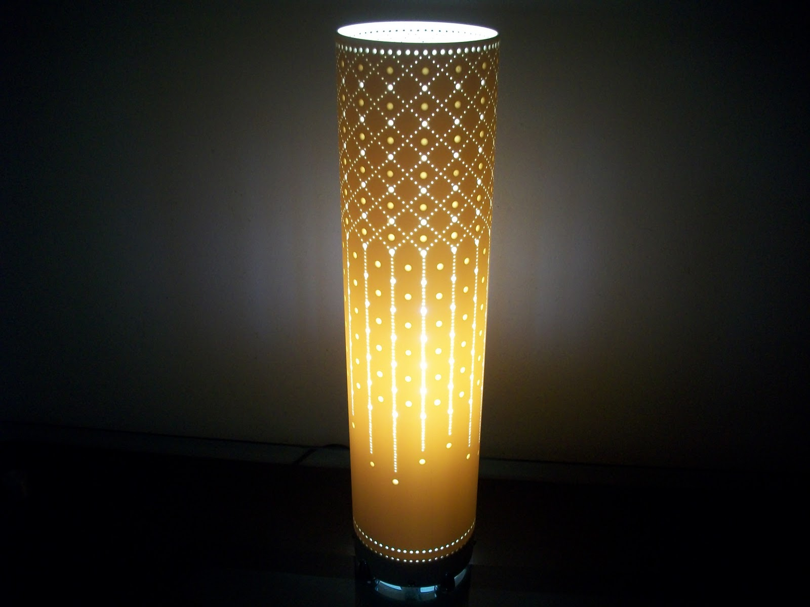 Artes braz luminarias em pvc 18 09 11 25 09 11 - Lamparas lucena ...