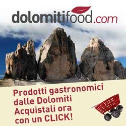 Il mio negozio di fiducia delle Dolomiti: inserisci il mio codice ATUT321 e avrai uno sconto del 5%