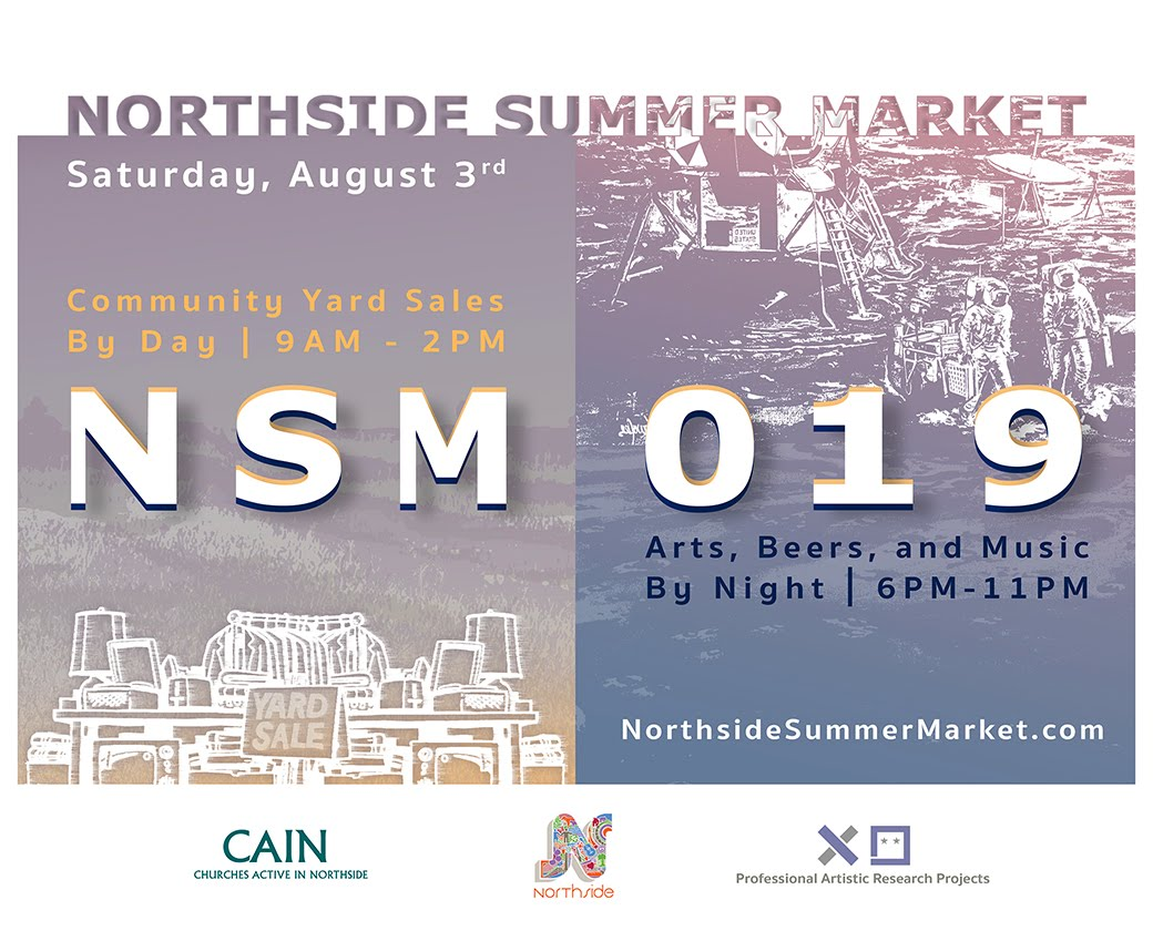 Northside Summer Market // NSM019 // A Community-Wide Yard Sale & Art Experience