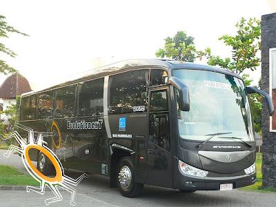 Armada bus Pariwisata GeGe