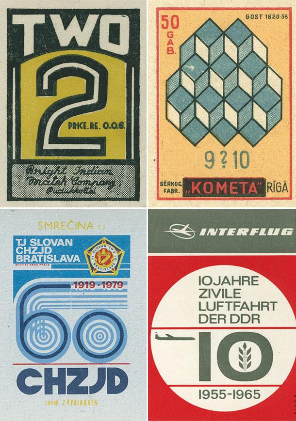 Design Vintage - Caixas de Fósforos de Shailesh Chavda
