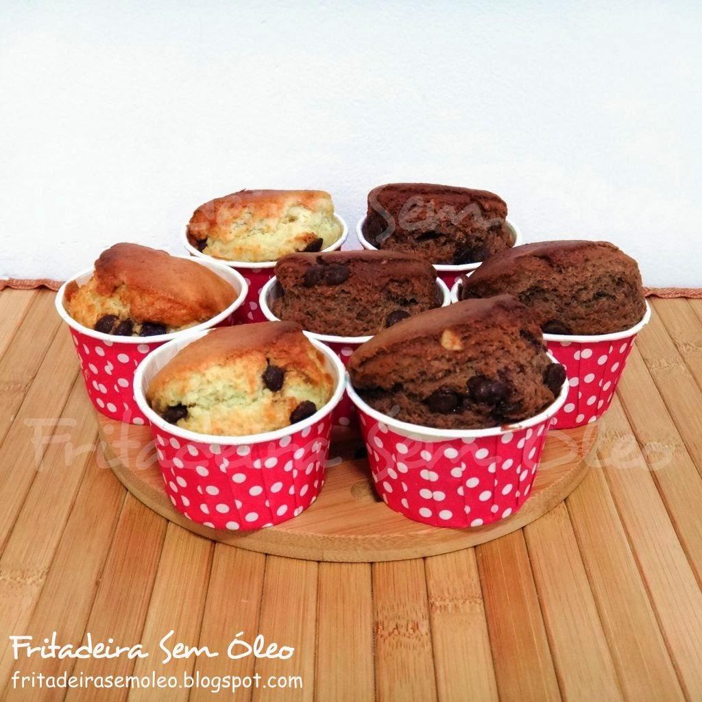 Muffins Natalinos na AirFryer